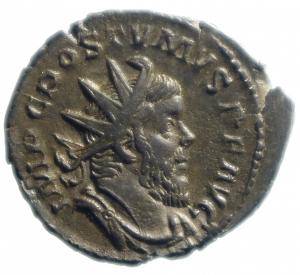 obverse: Impero Romano. Postumo. 259-268 d.C. Antoniniano. Ag : D/ Busto radiato a destra. R/ PM TR P COS III PP Marte stante a sinistra con globo e lancia. Peso 4,00 gr. Diametro 23,2 mm. SPL+.
