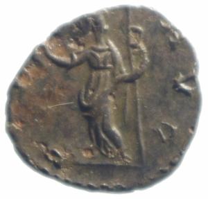 reverse: Impero Romano. Tetrico I. 270-273 d.C. Antoniniano. AE. D/ IMP TETRICVS PF AVG. Busto radiato a destra. R/ PAX AVG. la pace con ramoscello. Peso gr. 1,57. Diametro 17,00 mm. SPL+\BB+