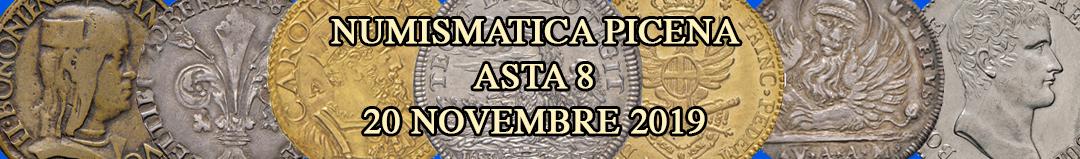 Banner Numismatica Picena Asta 8