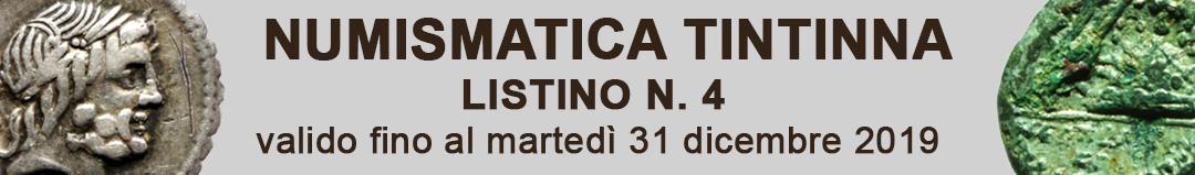 Banner Tintinna listino di vendita n. 4
