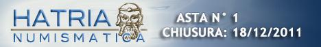 Banner Hatria Numismatica Asta N°1
