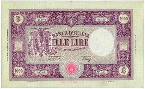obverse: 1000 Lire Decreto 14 aprile 1948