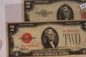 obverse: STATI UNITI - 2 banconote da 2 Dollari