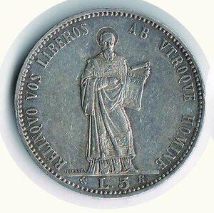 obverse: SAN MARINO - 5 Lire 1898 - Pagani 357.