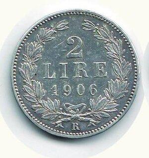 obverse: SAN MARINO - Vecchia monetazione - 2 Lire 1906