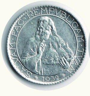 obverse: SAN MARINO - 20 Lire 1932 - Pagani 343.