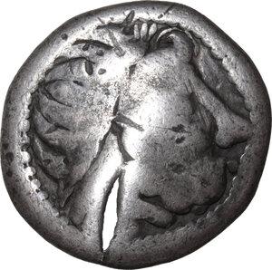 obverse: Celtic, Eastern Europe. AR Tetradrachm, imitating Philip II, 2nd century BC