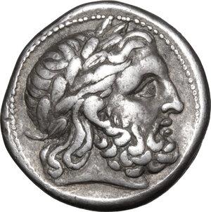 obverse: Celtic, Eastern Europe. AR Tetradrachm, imitating Philip II, 2nd-1st century BC
