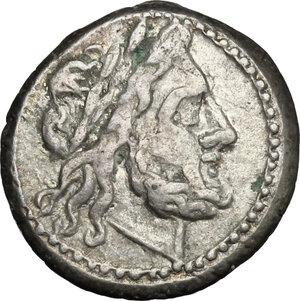 obverse: Anonymous.. AR Victoriatus, after 218 BC