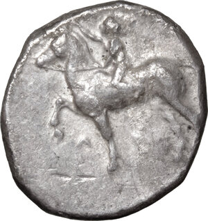 obverse: Southern Apulia, Tarentum. AR Nomos, 380-340 BC