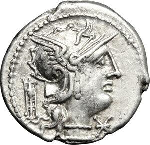 obverse: M. Opimius.. AR Denarius, 131 BC