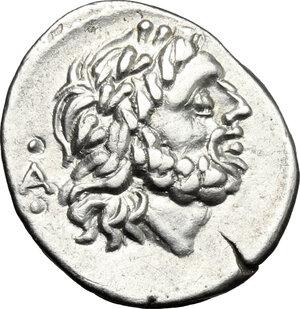 obverse: C. Fundanius. . AR Quinarius, 101 BC
