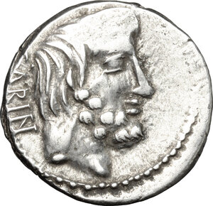 obverse: L. Titurius L. f. Sabinus.. AR Denarius, 89 BC