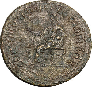 reverse: Caligula (37-41).. AE Dupondius, 37-41