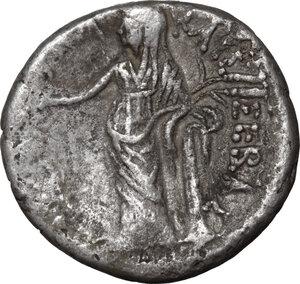 reverse: Claudius (41-54).. BI Tetradrachm, Alexandria mint, 45-46