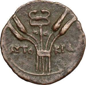 reverse: Claudius (41-54).. AE 25 mm, Alexandria mint, 50-51 (year 11)