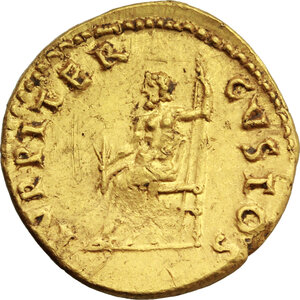 reverse: Nero (54-68).. AV Aureus, 66-67 AD