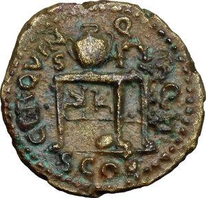 reverse: Nero (54-68).. AE Semis, 62-68