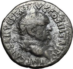 obverse: Vespasian (69-79).. AR Denarius, Ephesus mint, 71 AD