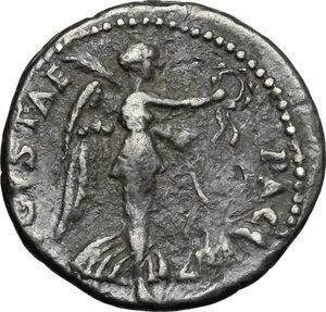 reverse: Vespasian (69-79).. AR Denarius, Ephesus mint, 71 AD