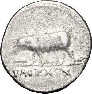 reverse: Vespasian (69-79).. AR Denarius 77-78