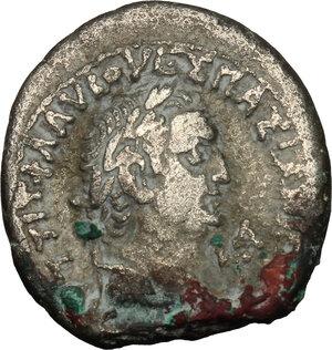 obverse: Vespasian (69-79) . BI Tetradrachm, Alexandria mint, 69 (year 1)