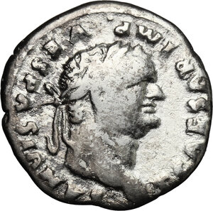 obverse: Titus as Caesar (69-79).. AR Denarius, 75-79 AD