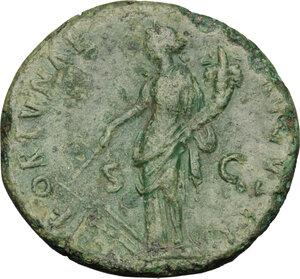 reverse: Domitian (81-96).. AE Dupondius, struck 95-96 AD. Rome mint