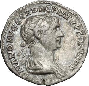 obverse: Trajan (98-117).. AR Denarius, 112-114