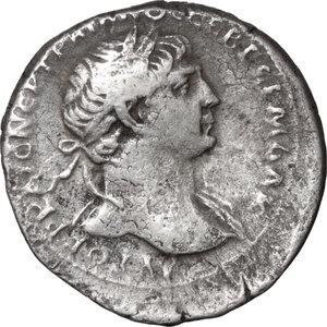 obverse: Trajan (98-117).. AR Tridrachm, Cappadocia, Caesarea mint, 103-111