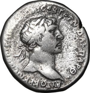 obverse: Trajan (98-117).. AR Tetradrachm, Syria. Tyre mint, 98-117