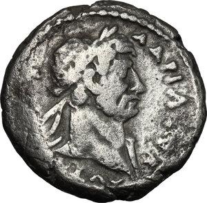 obverse: Hadrian (117-138).. BI Tetradrachm, Alexandria mint, 119/120 (year 4)