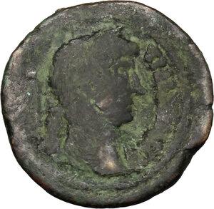 obverse: Hadrian (117-138).. AE 18 mm, Alexandria mint, 126/127 (year 11)