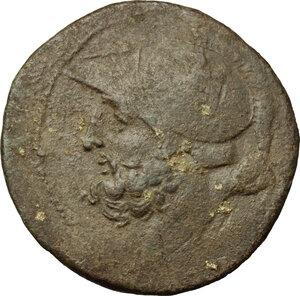 obverse: Bruttium, Brettii. AE Double (Didrachm) c. 208-203 BC