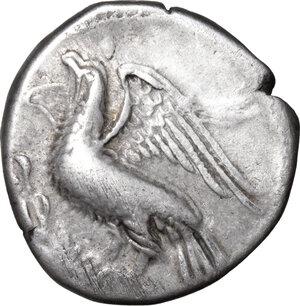 obverse: Bruttium, Kroton. AR Stater, 350-300 BC