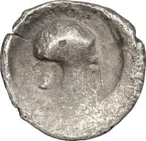 reverse: Himera. AR Obol, 470-450 BC