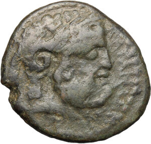 obverse: Katane. AE 22 mm, circa 200-187 BC
