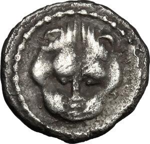 obverse: Leontini. AR Litra, c. 476-466 BC