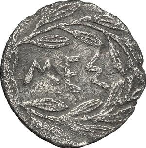 reverse: Messana. AR Litra, c. 420-413 BC