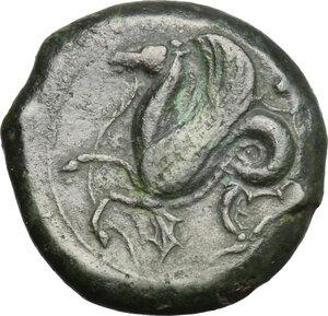 reverse: Syracuse.  Timoleon and the Third Democracy (344-317 BC).. AE Trias, 344-317 BC