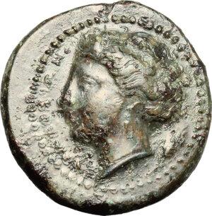 obverse: Syracuse.  Agathokles (317-289 BC).. AE, 317-310 BC