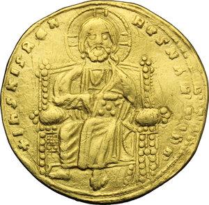 obverse: Roman III (1028-1034).. AV Histamenon nomisma, Constantinople mint, 1028-1034