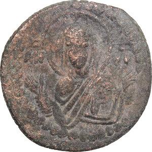 reverse: Romanus IV (1068-1071).. AE Follis, 1068-1071