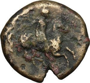 reverse: Syracuse.  Agathokles (317-289 BC).. AE 22mm