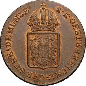 reverse: Hungary.  Franz II/I (1792-1805-1835).. AE Kreuzer, Kremnitz mint, 1816B