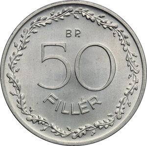 obverse: Hungary. AL 50 Fillér, Budapest mint, 1948