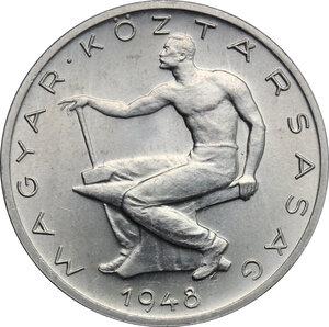 reverse: Hungary. AL 50 Fillér, Budapest mint, 1948