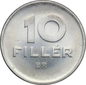 obverse: Hungary. AL 10 Fillér, Budapest mint, 1967