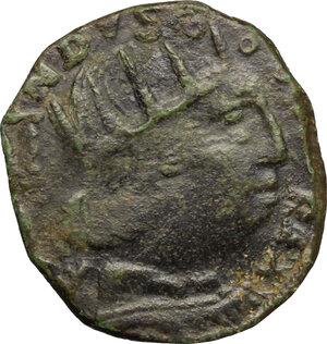 obverse: Italy..  Ferdinand I of Aragon (1458-1494). Cavallo, Aquila mint