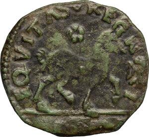 reverse: Italy..  Ferdinand I of Aragon (1458-1494). Cavallo, Aquila mint